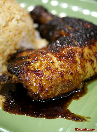 Ayam panggang (grilled chicken)