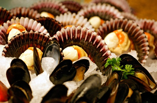 Scallops & mussels
