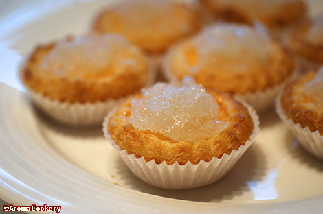 Bird's nest egg tart