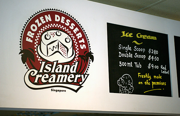 For local ice cream, go to Island Creamery.