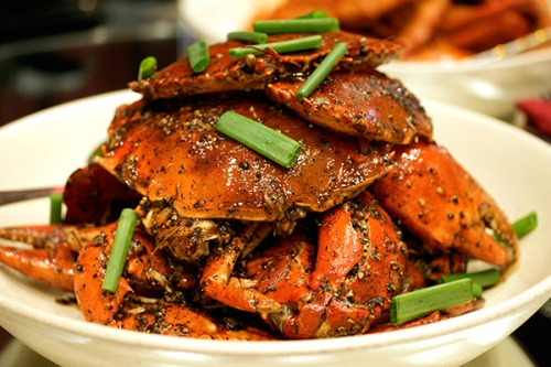Black pepper Sri Lanka crab