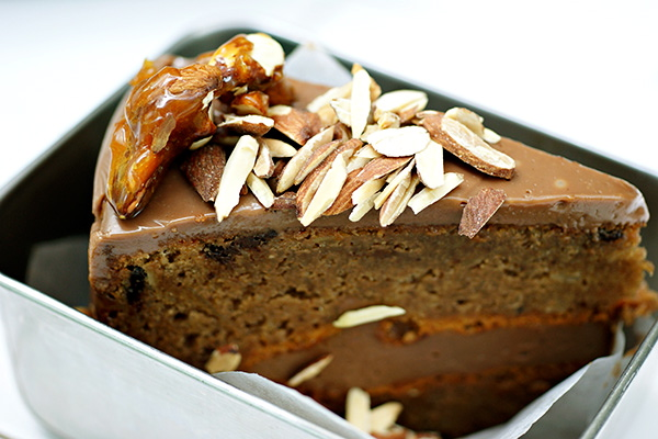 Guiltless Chocolate Almond Cake, S$12.