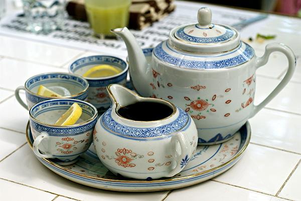 Lemon tea, anyone?
