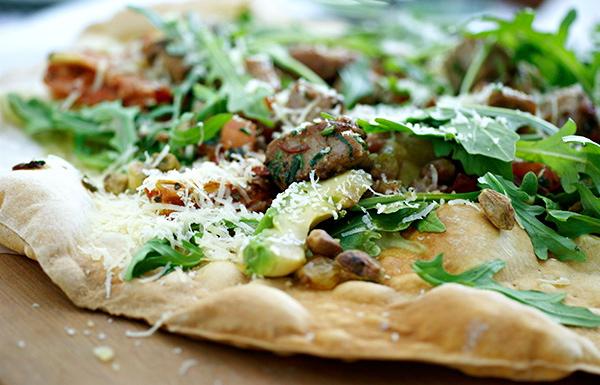 Ahi Taki Skinny Pizza, S$24.00.