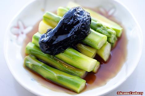 Asparagus with sea moss