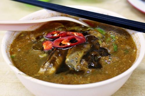 Penang assam laksa, RM4.00