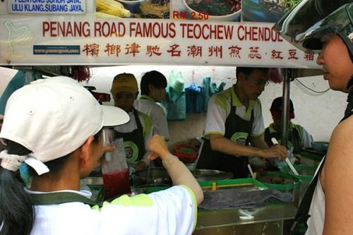 Penang Road's famous Teochew cendol!