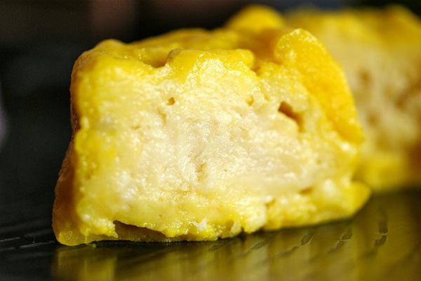 Fresh durian in snowskin