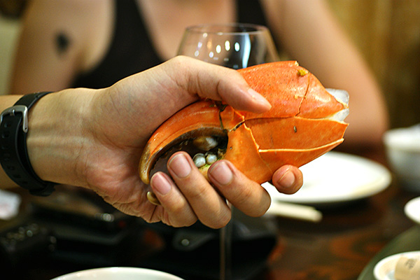 """Thank you Mr Crab, you were yummilicious!"""