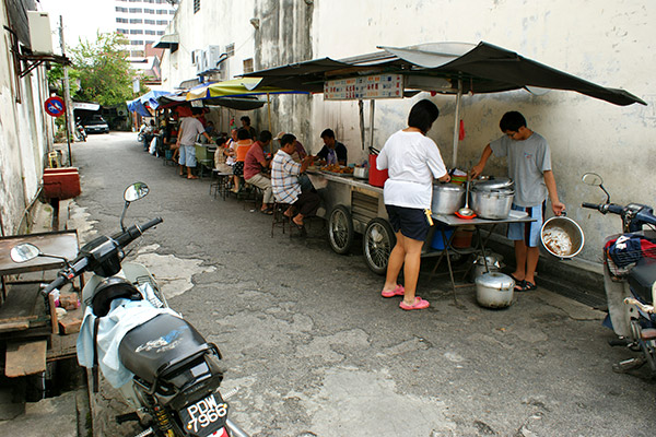 Delicious food in the most unlikely alley
